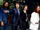 Beatles se chystaj� vykro�it na nejslavn�j�� p�echod sv�ta