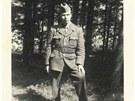 Rudolf Fuksa v uniform� p��slu�n�ka pohrani�n� str�e