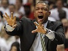 Doc Rivers diriguje hru Bostonu Celtics