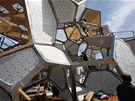 Saraceno objekt vytvořil přímo pro newyorské muzeum, které se nachází na