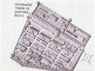 Mapa interna�n�ho t�bora ve Svatobo�ic�ch.