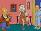 Lady Gaga v seriálu Simpsonovi
