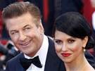 Alec Baldwin a Hilaria Thomasová (Cannes 2012)