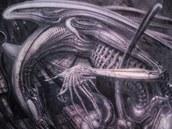 Při pohledu na Gigerovy fantaskní bytosti není divu, že život vdechl vetřelci...