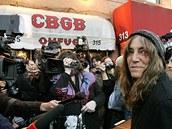CBGB's - Patti Smith - koncert na rozloučenou se slavným klubem CBGB's v New