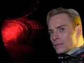 Z filmu Prometheus, Michael Fassbender v roli Davida