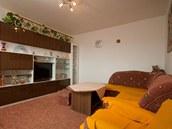 Původní obývací pokoj, který slouzží i jako ložnice.
