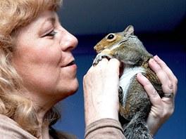 Shirley Higtonová se svým miláčkem Sammym