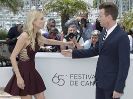 Cannes 2012 - porotci Diane Krugerová a Ewan McGregor