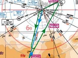 Rekonstrukce průběhu letu Suchoje Superjet předcházejícího jeho tragické
