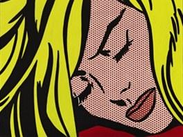 Roy Lichtenstein: Sleeping Girl (Spící dívka)