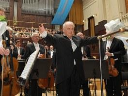 Daniel Barenboim a Wiener Phillharmoniker na Pražském jaru 2012