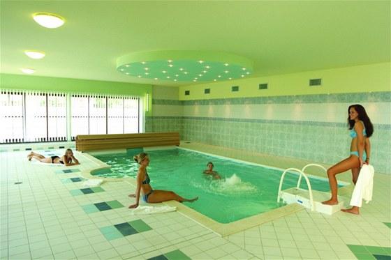 Frankův Dvůr - bazén