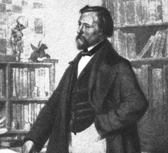 N�mec dr. Heinrich Hoffmann (1809-1894). Byl p�edev��m l�ka� a mimo jin� b�sn�k