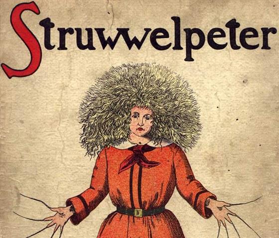 Postava Struwwelpetera od Heinricha Hoffmanna (1809-1894). Ob�lka anglick�ho