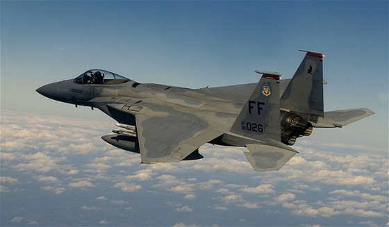 Některé součástky stíhačky McDonnell Douglas F-15 Eagle jsou také zastaralé.
