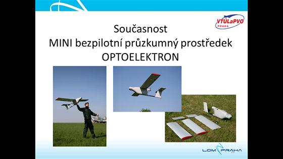 Bezpilotní letoun Optoelektron