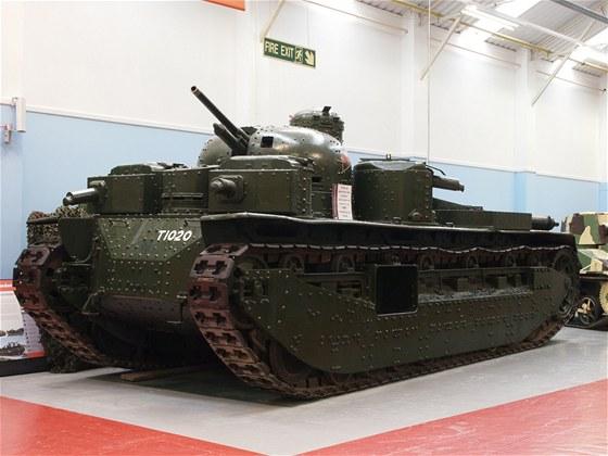 A1E1 Independent silně ovlivnil konstrukci vícevěžových tanků v zahraničí