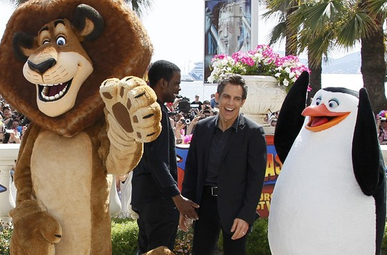 Chris Rock a Ben Stiller v Cannes