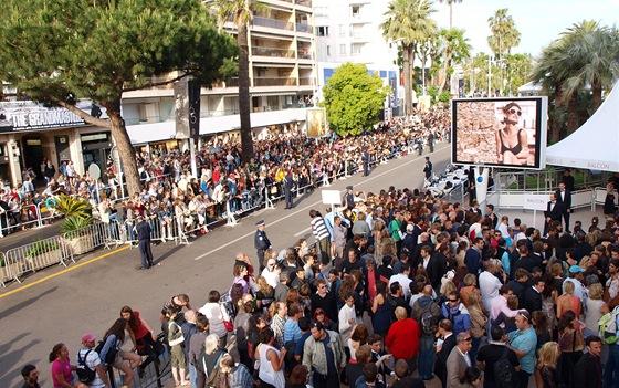 Tlačenice na 65.ročníku festivalu v Cannes