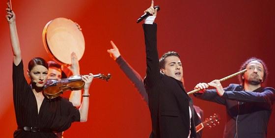 Zeljko Joksimovic na Eurovizi 2012