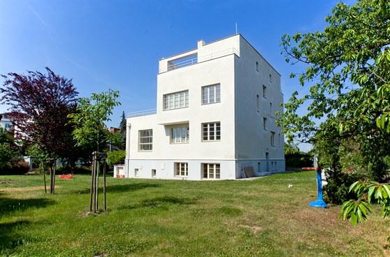 Winternitzova vila byla postavena v roce 1932.