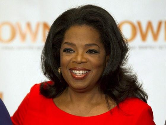Oprah Winfreyov� je zn�m� americk� moder�torka, here�ka a vydavatelka �asopisu...