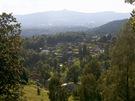 Pohled na Liberec od Liberecké Výšiny