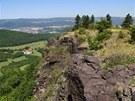 Skaliska na z�padn�m okraji stolov� hory