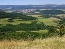 Pohled do údolí Ohře směrem ke Klášterci