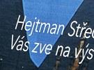 Billboard, na kter�m zve b�val� hejtman David Rath na v�stavu Europa