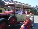 Focení kalendáře s klienty Domova seniorů Drachtinka (23. května 2012)