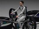 Počítačový model létajícího kola F-Bike