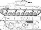 Dvouvěžový tank T-100 byl nasazen ve Finsku