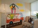 Tapety, které navrhuje Babeta Ondrová pro značku Lavmi, jsou hravé a podporují