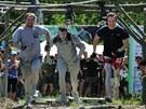 Letošního ročníku extrémní soutěže Bahňák se v Sokolově zúčastnilo 450