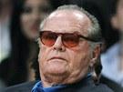 Jack Nicholson, otrávený fanoušek LA Lakers.
