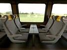 Na zkušebním okruhu ve Velimi se představil nový vlak  Leo Express. (24. května