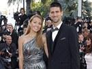 Jelena Risti�ov� a Novak Djokovi� (Cannes 2012)