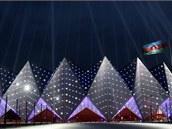 Ázerbájdžán pro finále Eurovize postavil zbrusu nový koncertní sál zvaný