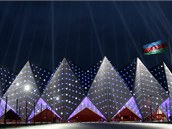 �zerb�jd��n pro fin�le Eurovize postavil zbrusu nov� koncertn� s�l zvan�