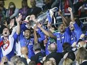 DNESKA TADY VLÁDNEME MY! Hráči Chelsea porazili ve finále Ligy mistrů Bayern