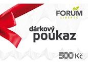 Voucher do nákupního centra Forum (500 korun)