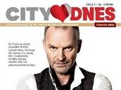 Titulní strana magazínu City DNES - červen 2012