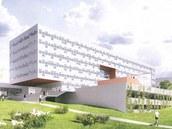 Vizualizace nových budov v univerzitním kampusu v Ústí nad Labem