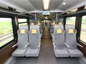 Česká, nově vyvinutá sedadla poskytují pohodlí na dlouhou cestu. V interiéru je