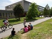 Základní škola Moravská v Havířově-Šumbarku, kde žena pobodala vychovatelku v