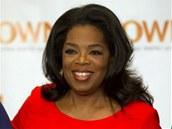 Oprah Winfreyov� je zn�m� americk� moder�torka, here�ka a vydavatelka �asopisu