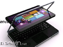 DELL XPS 12 nov tablet s Windows 8