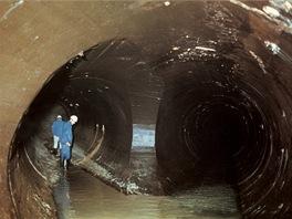Úpravna vody Želivka - štolový přivaděč
